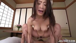 Asian model ass fucked and made to swallow