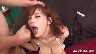 Airu Oshima shows off in extreme solo scenes